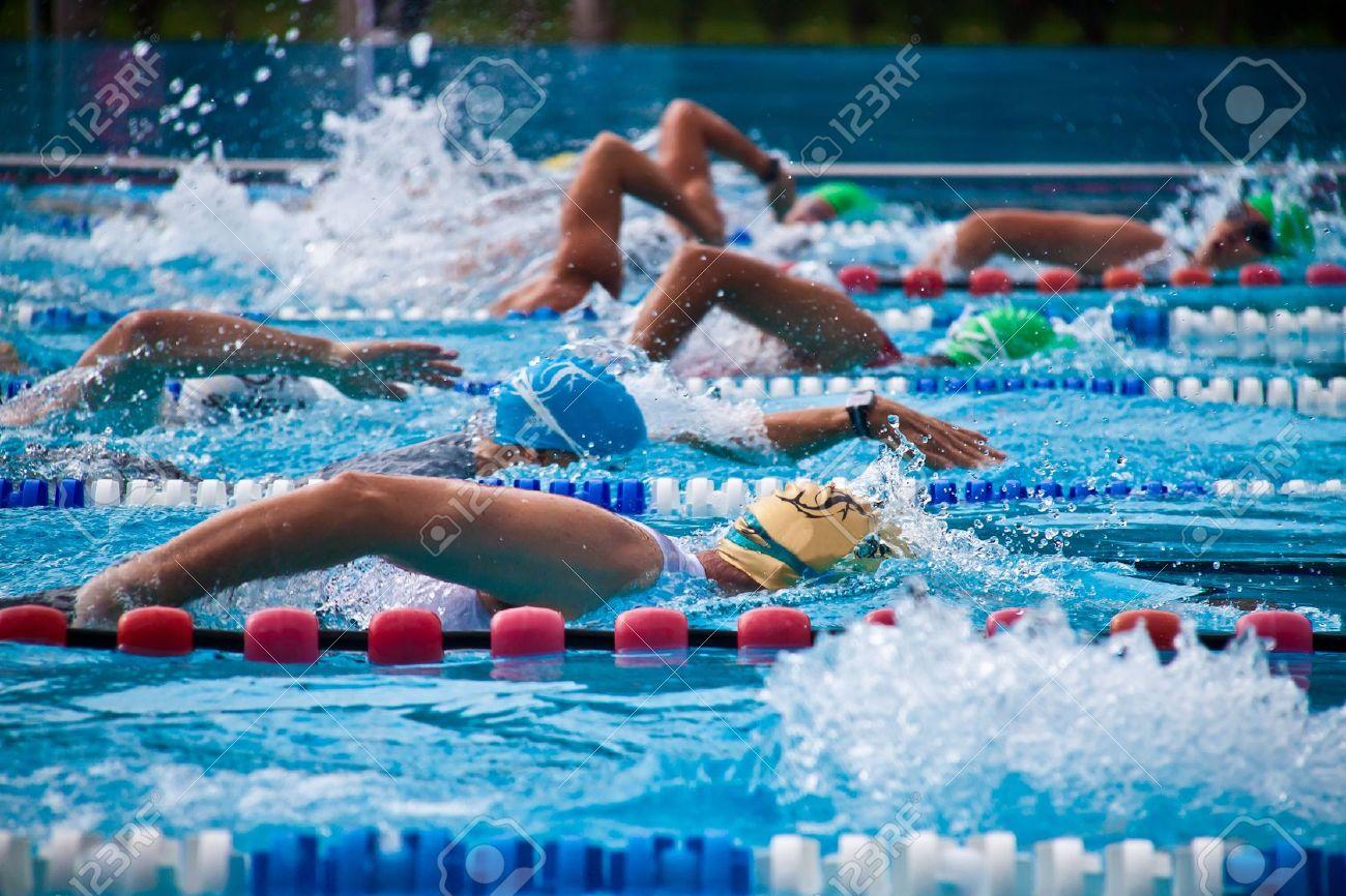 Swimming Practise By In S Ranya