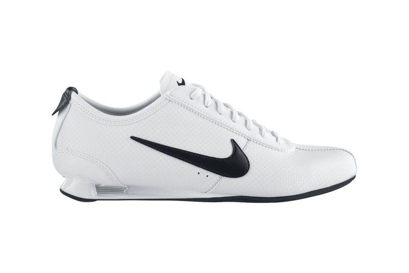 Nike Shox Blanche