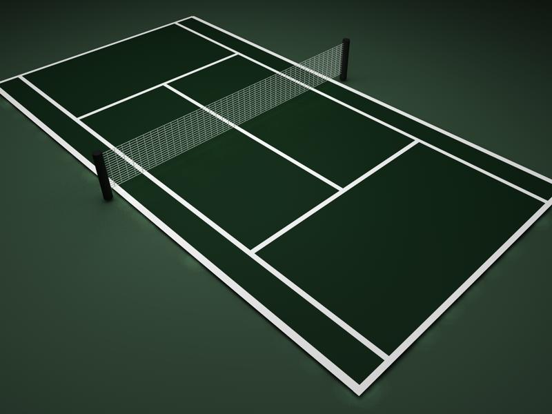 Tennis practise by carl and maelys for Dimension d un terrain de tennis